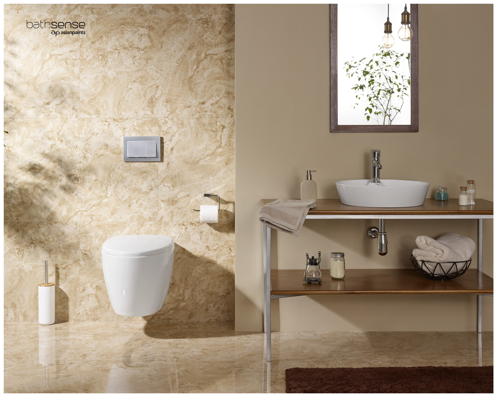 Asian Paints Bathsense Bathroom Theme